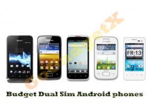 Budget Dual Sim Android Phone