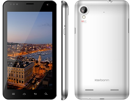 Karbonn-A30 Phablet with 5-9 inch screen and 8 MP camera