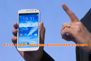 How to Root T-mobile Galaxy Note2 T889 and Install TWRP recovery