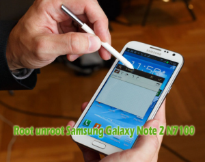 How to Root and Unroot Samsung Galaxy Note 2 N7100