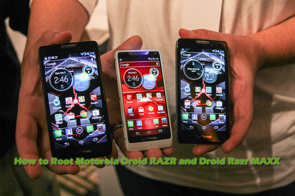 How to Root Motorola Droid RAZR and Droid Razr Maxx