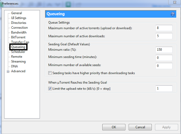 Queueing- Get Max Out of uTorrent - Increase Download Speed