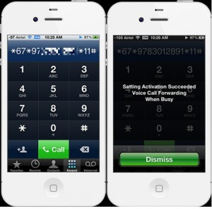 How to enable conditional call forwarding on iPhone and iPad