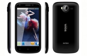 Intex Aqua Wonder-Best Android Smartphone 2013