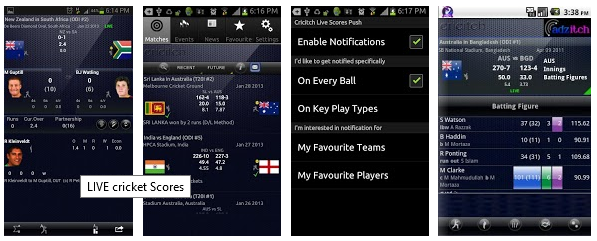 Live Cricket Scores App Best IPLT20 2013 Live Cricket Apps For Android iOS Phones Top 5