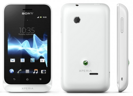 Sony Xperia Tipo-Best Budget Android Phones UK and Europe