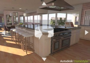autodesk-homestyler-easy online tool to create 3D House Layout and Floor plans for Free