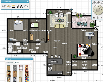 floorplanner free online tool to create floor plans and layout easily - Free Design Floor Plans