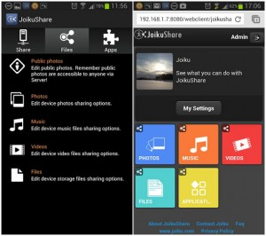 Joikushare for Android - fast Wi-FI Air Share