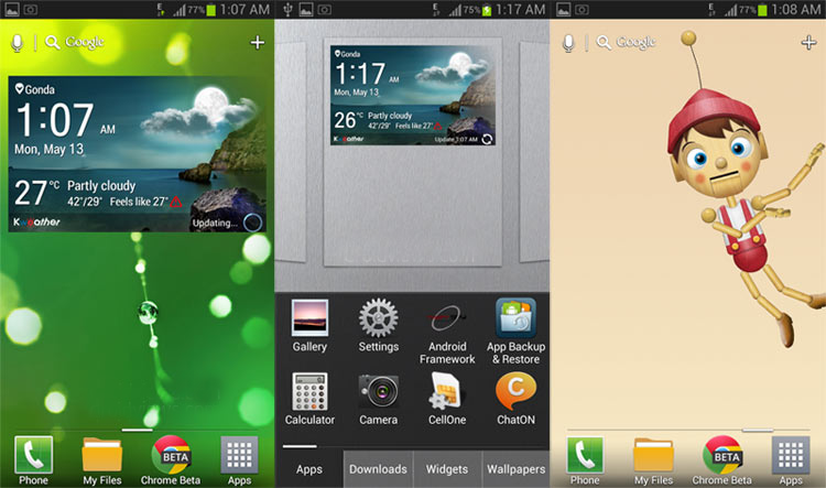 LG Optimus G Pro launcher Apk download
