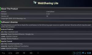websharing lite for Android - Share files over Wi-Fi with high transfer speed