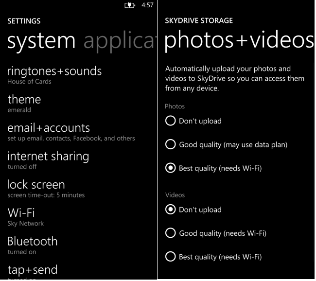 how to backup windows phone photos and videos