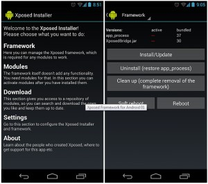 Xposed Frame work - How to Install and use