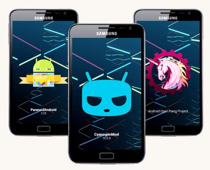 Cara Upgrade Android dengan Custom ROM