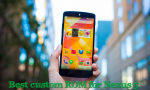 Best custom ROm for Nexus 5 - For speed smoothness and battery backup
