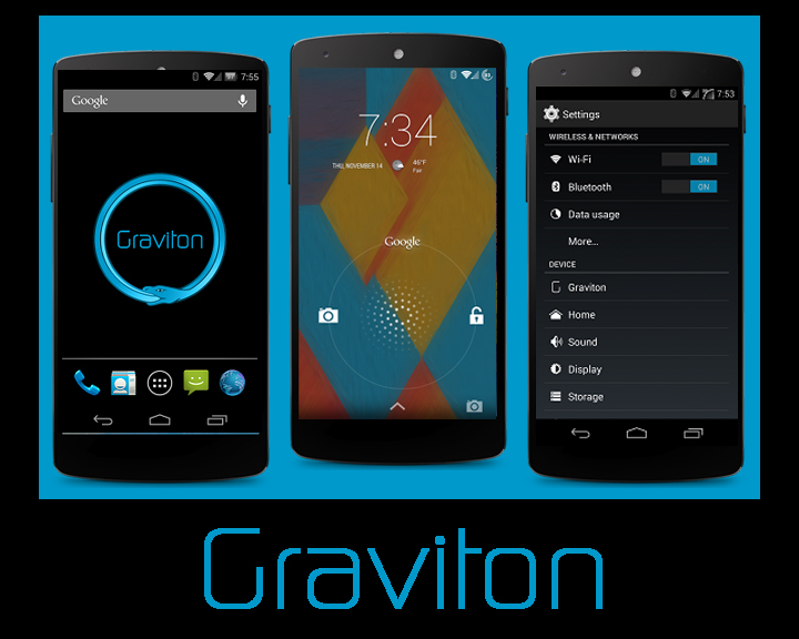 Best custom ROm for Nexus 5 - Graviton