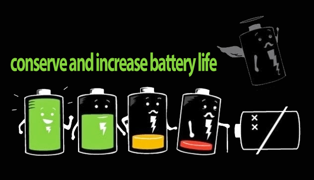 Optimize Smartphone to conserve and increase battery life