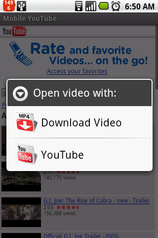 how to download youtube videos on phone mirror