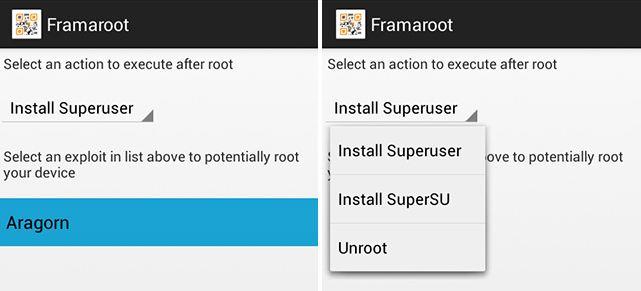 framaroot-Nokia X Root