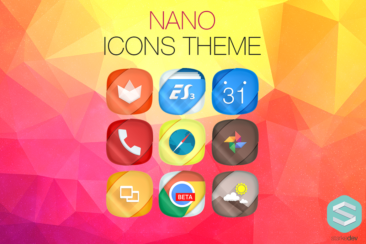 Nano-Icons-Banner - Best icon pack for Android