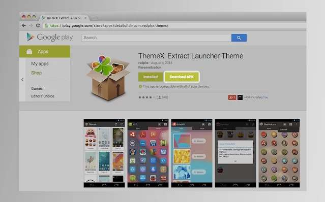 How to download apk file directly from Play Store - chrome firefox extension