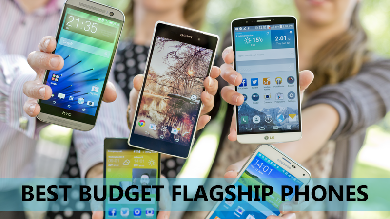 Best Budget Flagship phones with Full HD screen - 4G Support - High speed processor for Gaming - 13 MP camera