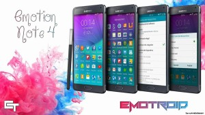 Emotion Revolution Custom ROM For Samsung Galaxy Note 4 Snapdragon version