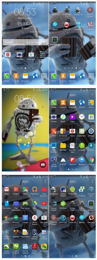 Omega Stock Samsung TouchWiz ROM for Samsung galaxy Note 4 - Best Custom ROM