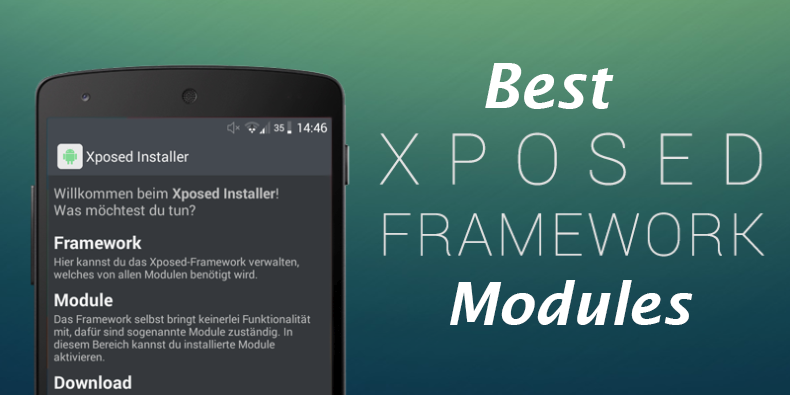 Best Xposed framework Modules for Android