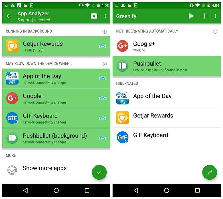 Greenify Best Xposed Module enhanced Doze mode for Lollipop and Marshmallow